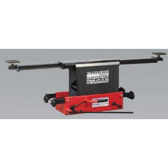 Sealey SJBEX200LP - Jacking Beam Yankee 2tonne Low Profile with Arm Extenders & Roller Supports