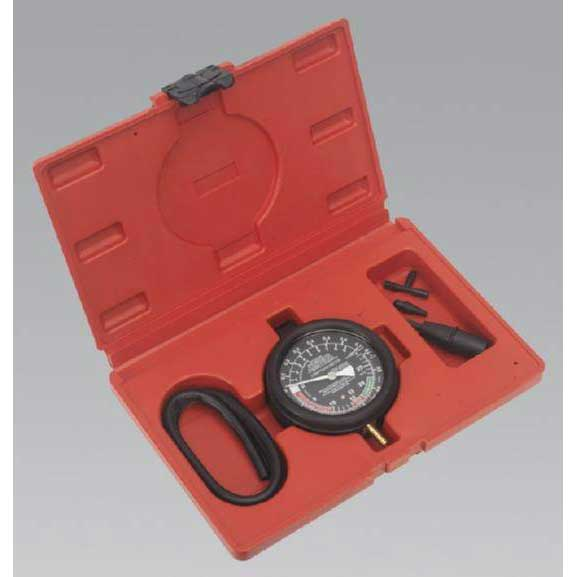 Sealey VSE952 - Vacuum & Fuel Pump Pressure Test Gauge Set
