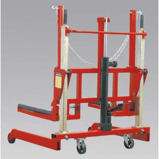 Sealey W508T - Wheel Removal Trolley 500kg Yankee Adjustable Width