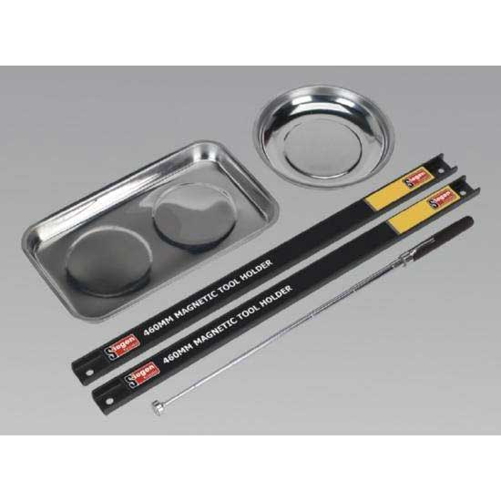 Sealey S0773 - Magnetic Bowl & Tool Holder Set 5pc