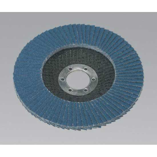 Sealey FD12560 - Flap Disc Zirconium O125mm 22mm Bore 60Grit