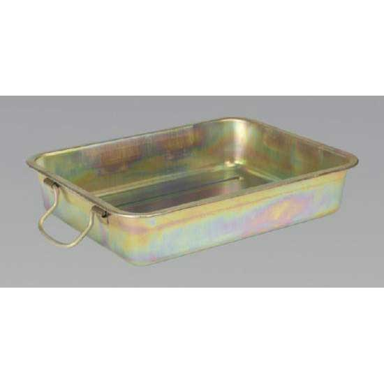 Sealey DRPM1 - Metal Drain Pan 13ltr