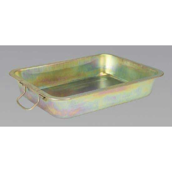 Sealey DRPM2 - Metal Drain Pan 17ltr