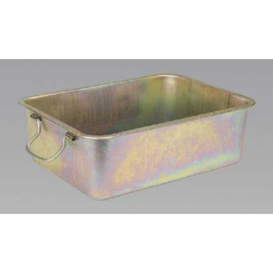 Sealey DRPM3 - Metal Drain Pan 20ltr