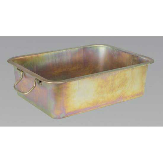 Sealey DRPM4 - Metal Drain Pan 28ltr