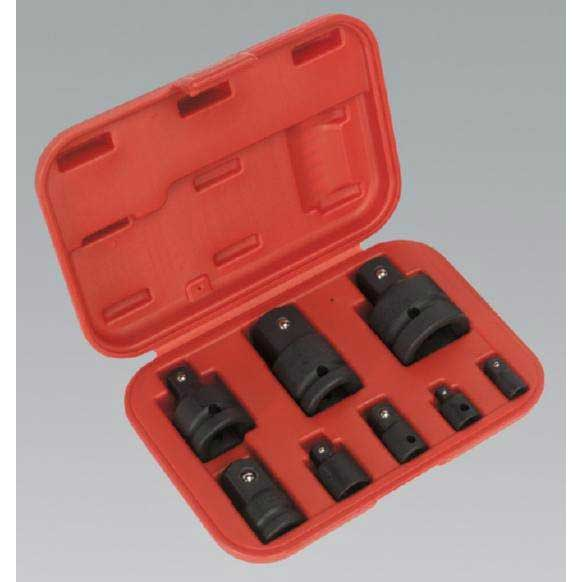 Sealey AK5900B - Impact Socket Adaptor Set 8pc with Storage Case