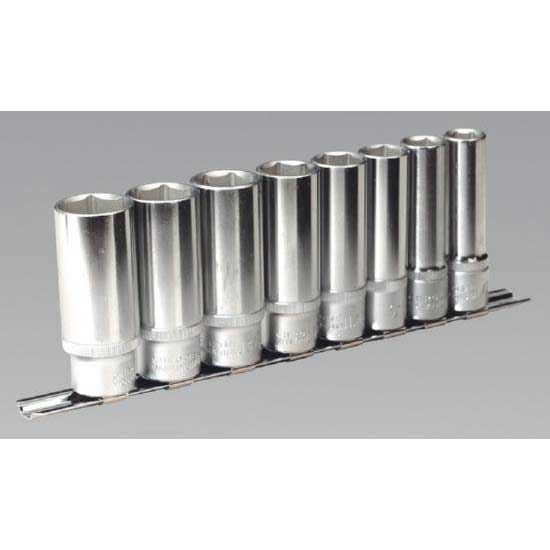 """AK2675 Sealey Socket Set 13pc 1//2/""""Sq Drive 12pt Deep WallDrive® Imperial"""