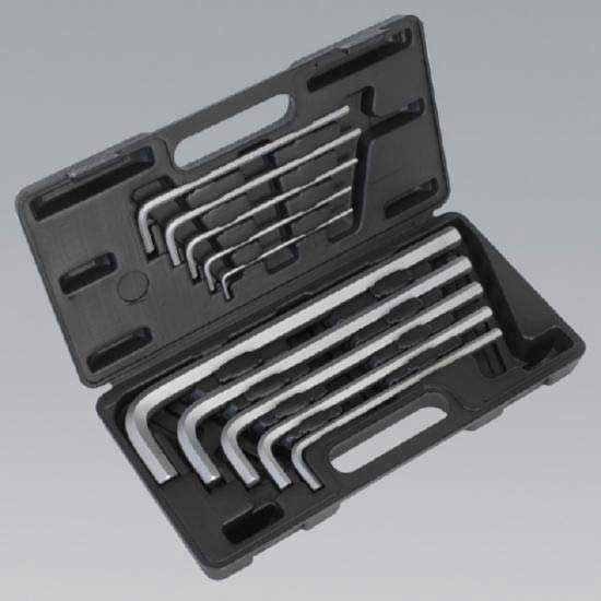 Sealey AK6143 - Jumbo Hex Key Set 10pc Extra-Long - Metric