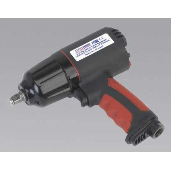 "Sealey GSA6000 - Generation Series Composite Air Impact Wrench 3/8""Sq Drive Twin Hammer"