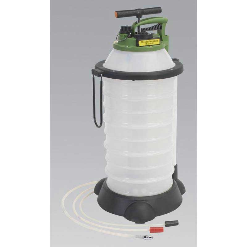 Sealey TP6906 - Vacuum Oil & Fluid Extractor & Discharge 18ltr