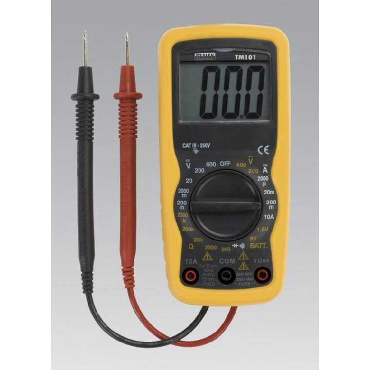 Sealey MM19 - Digital Multimeter 19 Function - uktools com