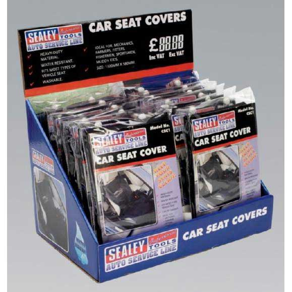 Seat Cover Display Box of 12