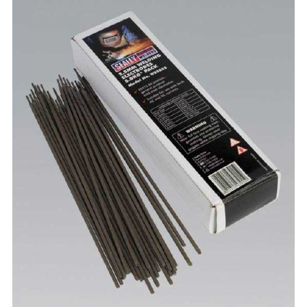 Welding Electrodes 2.5mm 5.0kg Pack