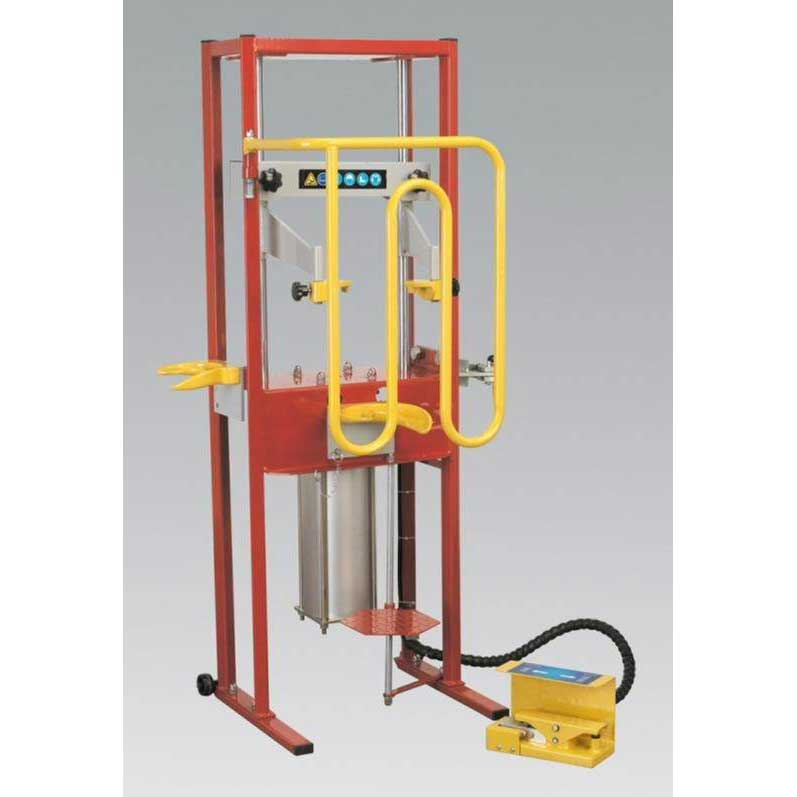 Coil Spring Compressor - Air Operated