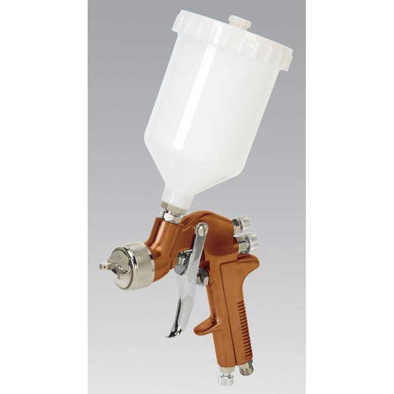 Sealey S775G - Spray Gun Gravity Feed Siegen Brand 1.3mm Set-Up