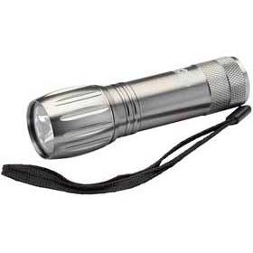 Draper Expert 1 LED (1W) Super Bright Aluminium Torch (3 X AAA Batteries)