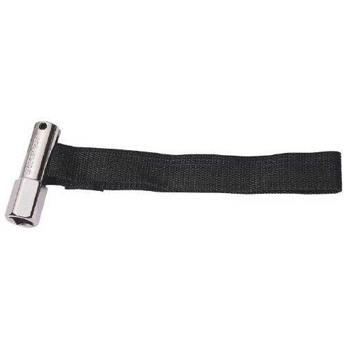 Draper 1/2'' Square Drive or 21mm 120mm Capacity Oil Filter Strap Wrench
