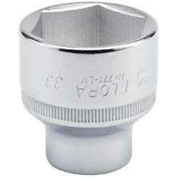 Expert 33mm 1/2'' Square Drive Elora Hexagon Socket
