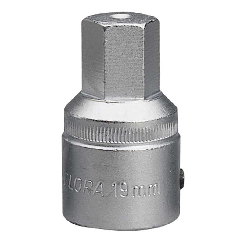 19mm 3/4'' Square Drive Elora Hexagon Screwdriver Socket