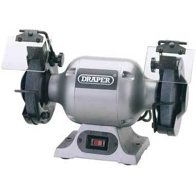 Draper 230V 150mm Heavy Duty Bench Grinder
