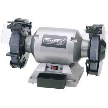 Draper 230V 200mm Heavy Duty Bench Grinder