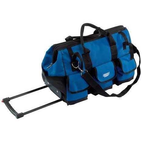 Draper Expert Mobile Tool Bag with Wheels 550 X 300 X 350mm