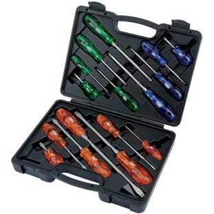 Draper Expert 16 Piece Engineers Screwdriver Set