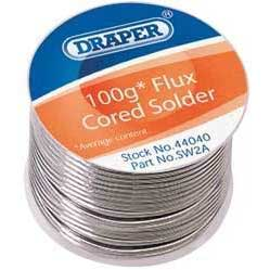 Draper 100g Reel of K60/40 Tin / Lead Solder Wire
