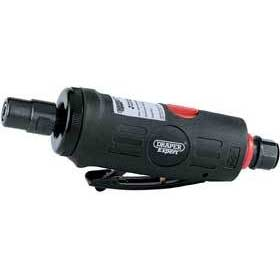 Draper Expert 6mm Compact Soft Grip Air Angle Die Grinder