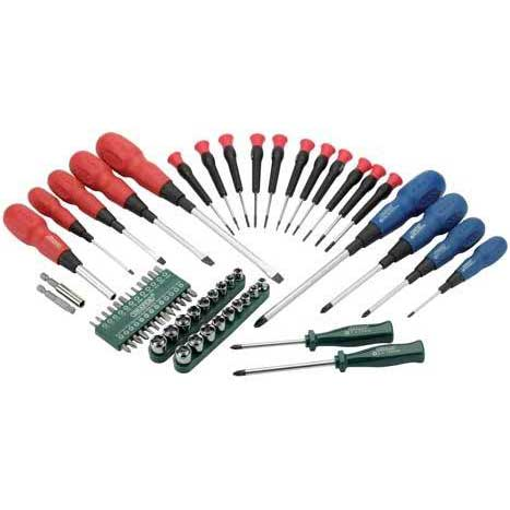 Draper 67 Piece Screwdriver Socket and Bit Set