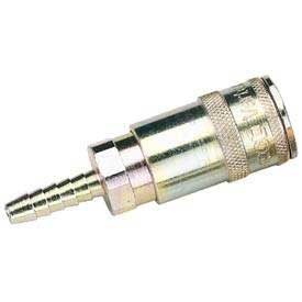 Draper 1/4'' Bore Vertex Air Line Coupling with Tailpiece
