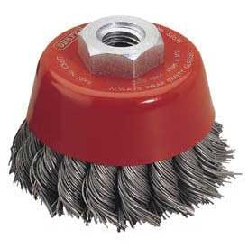 Draper Expert 60mm X M14 Twist Knot Wire Cup Brush