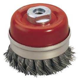 Draper Expert 80mm X M14 Twist Knot Wire Cup Brush
