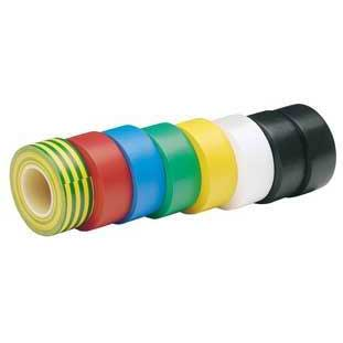 Draper Expert 8 X 10m  X 19mm Mixed Colours Insulation Tape to BSEN60454/Type2