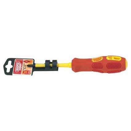 Draper Expert No.1 X 80mmfully Insulated Cross Slot Screwdriver