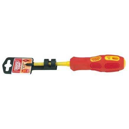 Draper Expert No.1 X 80mm Fully Insulated PZ Slot Screwdriver