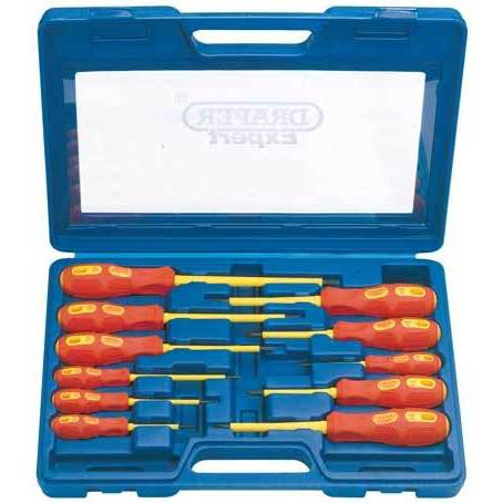 Draper Expert 11 Piece Fully Insulated Screwdriver