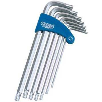 Draper Expert 7 Piece Ribe? Hex Key Set in  Plastic Holder