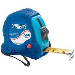 Draper 7.5m/25ft X 25mm Measuring Tape