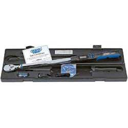 Draper Expert 1/2'' Sq. Dr. Electronic Precision Torque Wrench 68-340Nm with RS232 and Usb Int