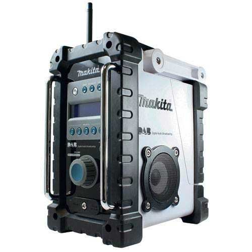 Makita BMR101W - Job Site DAB Radio - White