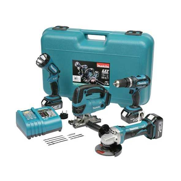 Makita LXT425 - 18V 4PCS LI-ION COMBO KIT