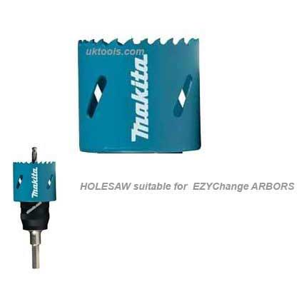 Makita B-11427 EZYChange Bi-Metal Holesaw 60mm
