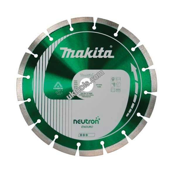 Makita Diamond 400mm Neutron Standard Blade 10mm Rapide Blade B-13655