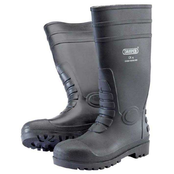 Draper Safety Wellington Boots to S5 - Size 12/47