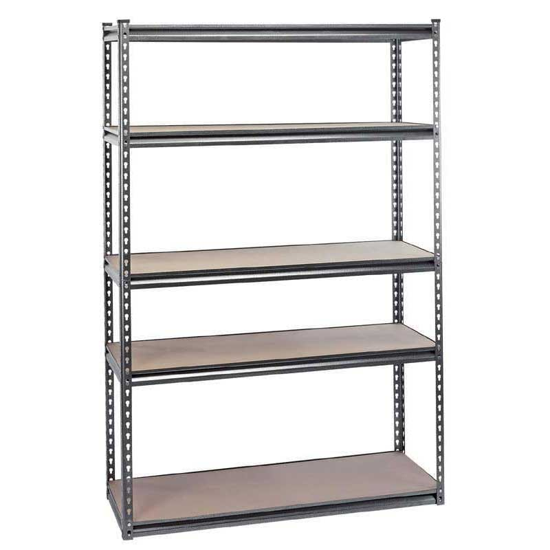 Draper Expert Heavy Duty Steel Shelving Unit - Five Shelves (L1220 x W450 x H1830mm)
