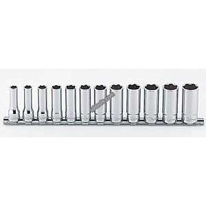 Koken RS3310M/12 3/8'' SURFACE DRIVE SOCKET 12PC SET DEEP (8-19mm)