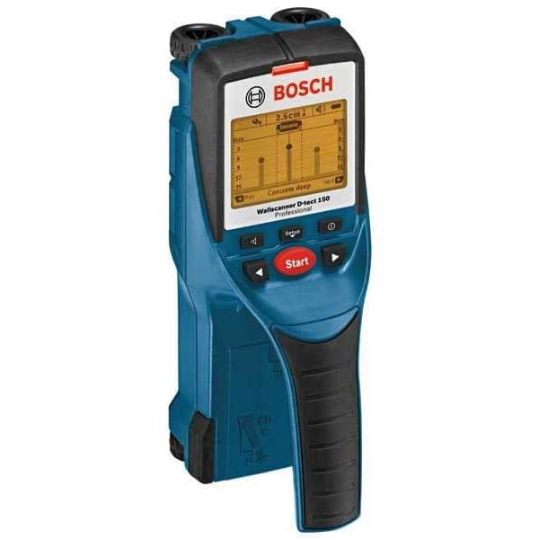 Bosch D-TECT 150 Digital Wall Scanner with metal/stud/electrical wiring detector, max 150mm scan