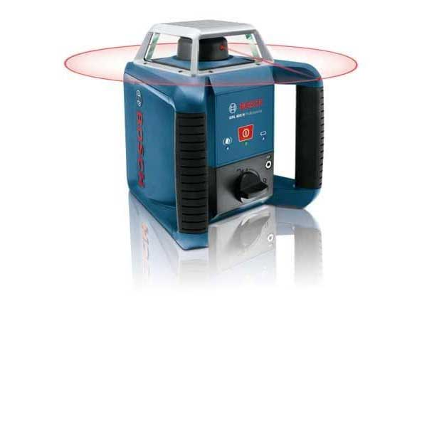 Bosch GRL 400H + LR1 Outdoor Rotation Laser 400m dia. horizontal  IP64 dust and water protection