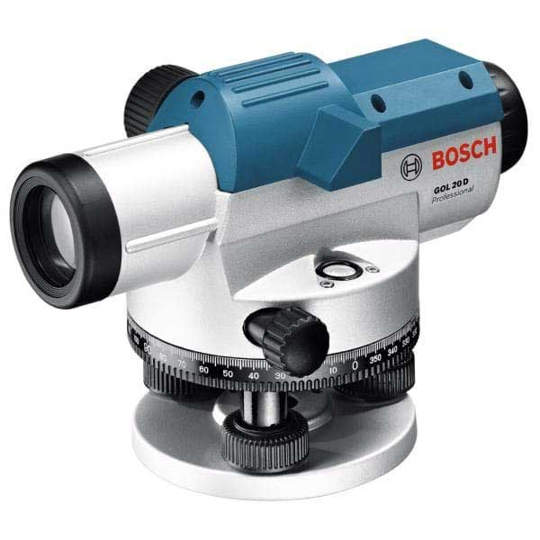 Bosch GOL 20D Optical Level, degrees, 20 times magnification